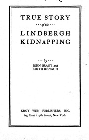 True Story Of The Lindbergh Kidnapping 1932 nwo illuminati ...