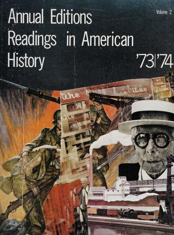 Cover of: Annual Editions Readings in American History Volume 2 |
