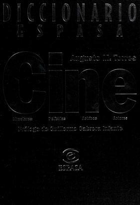Cover of: Diccionario Espasa cine | Augusto M. Torres