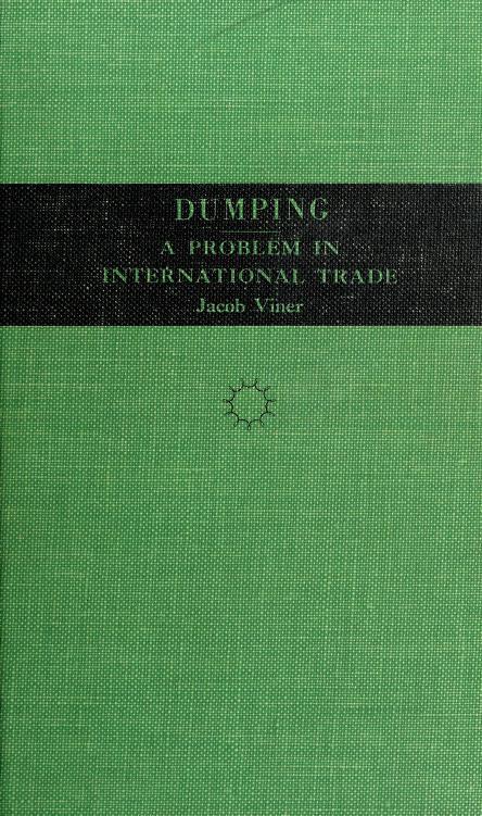 Dumping by Viner, Jacob