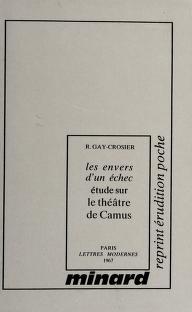 Cover of: Les envers d'un échec | Raymond Gay-Crosier