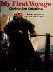 Cover of: My First Voyage | Christopher Columbus