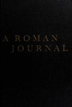 Cover of: A Roman journal   Stendhal