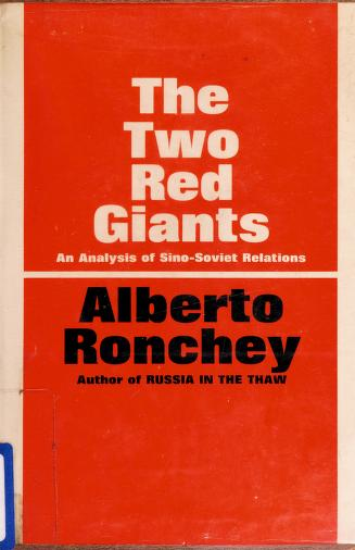 The two Red giants by Alberto Ronchey