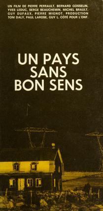 Cover of: Un Pays sans bon sens | [par] Pierre Perrault [et autres.